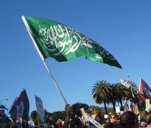 LA 011009 hamas flag
