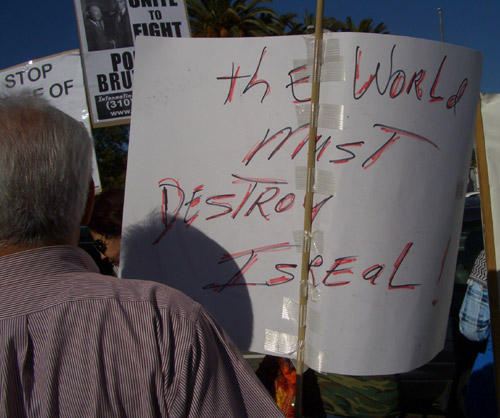 LA 011009 world must destroy israel