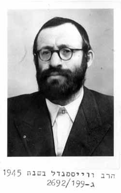 Rabbi michael dov weissmandel