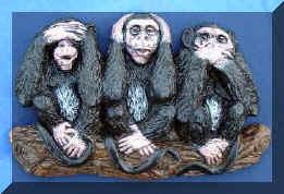 Three monkies