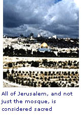 Website reading islam story isra all jerusalem