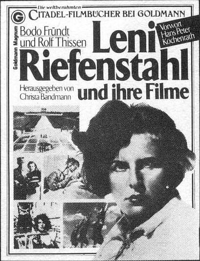 Leni riefenstahl poster in german