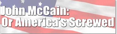 John mccain or americas screwed