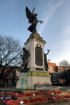 Uk burton war memorial islam will dom