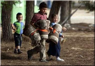 Expulsion three children