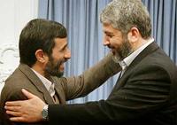 Ahmadinejad w hamas mashaal
