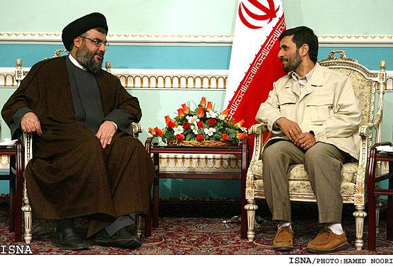 Ahmadinejad w nasrallah