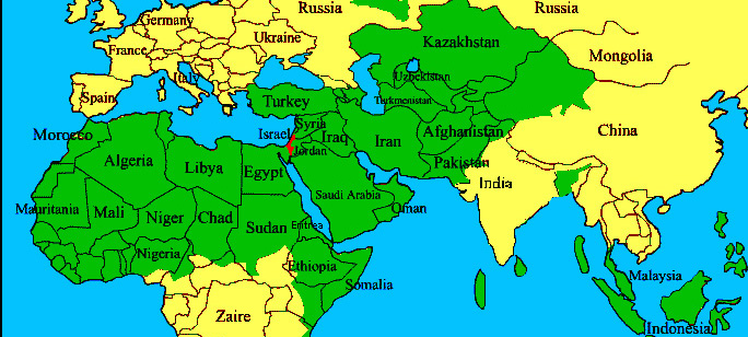 Great map israel in context cropped