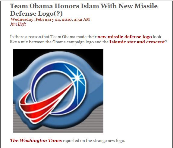 Logo missile defense