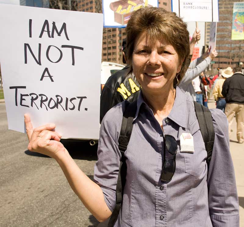 I am not a terrorist says mom