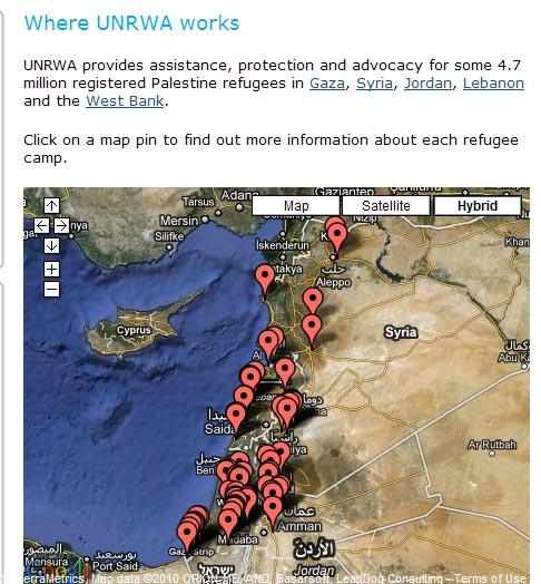 UNRWA camps