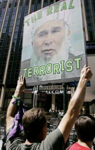 Bush is the real terrorist