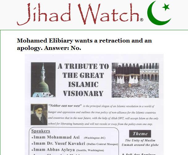 Elibiary jihad watch