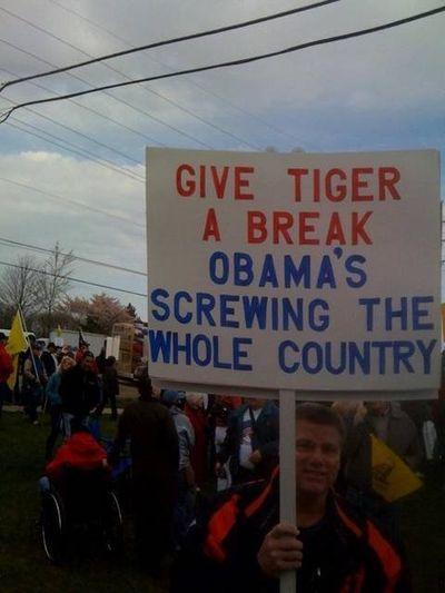 Give tiger a break