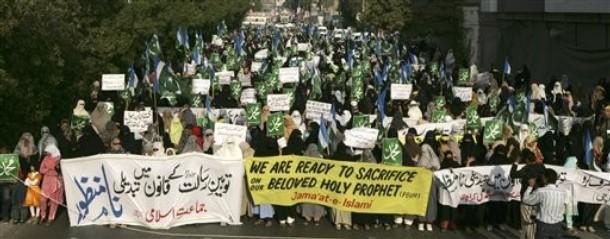 Rally to kill asia bibi in karachi 120910