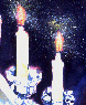 Shabbos candles cropped