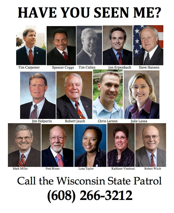 Wanted in Wisconsin
