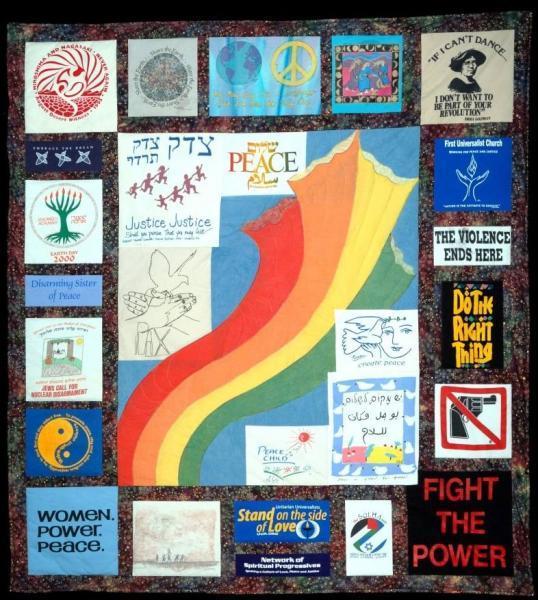 Arthur waskow shalom quilt