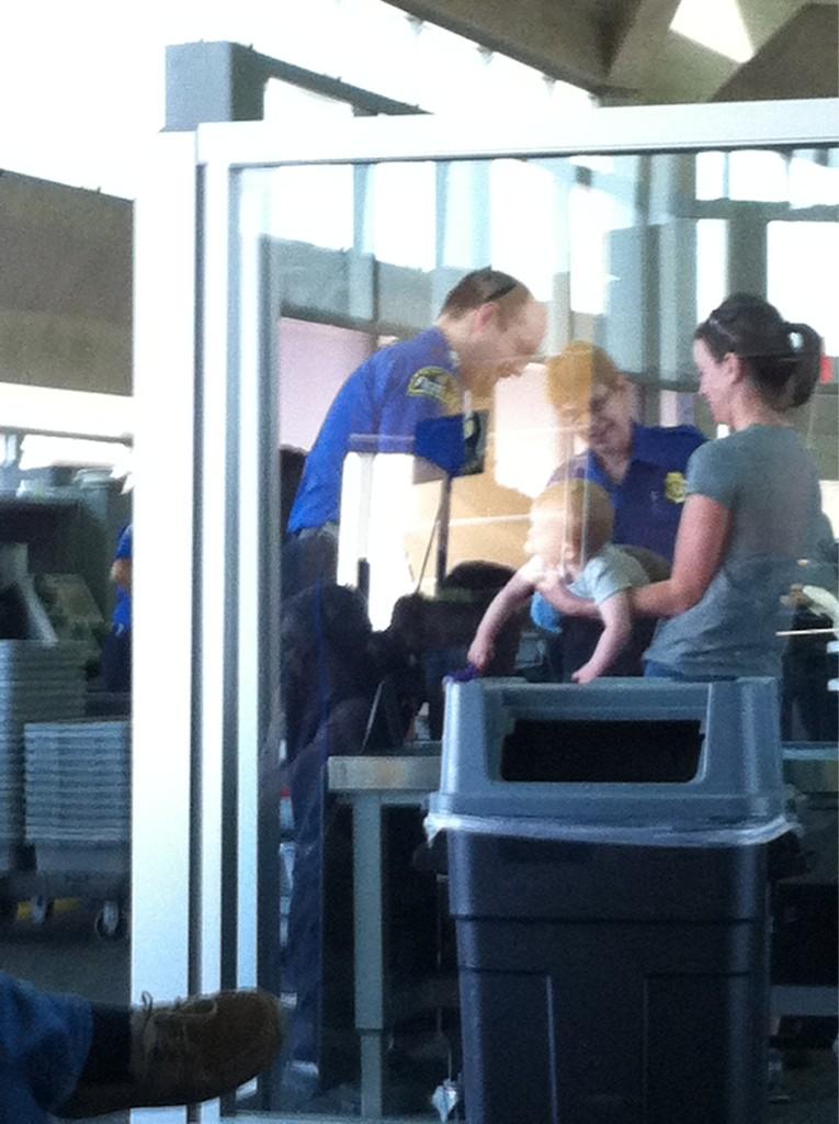 TSA looks for poop bomb