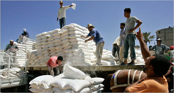 Gaza aid