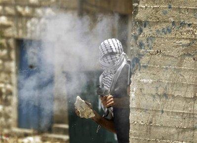 Fires a homemade weapon nr ramallah 051509