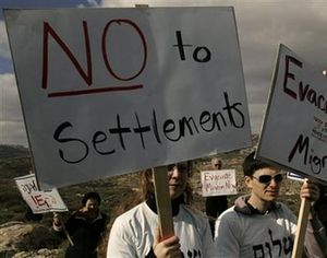 Israeli left wingers no settlements cropped