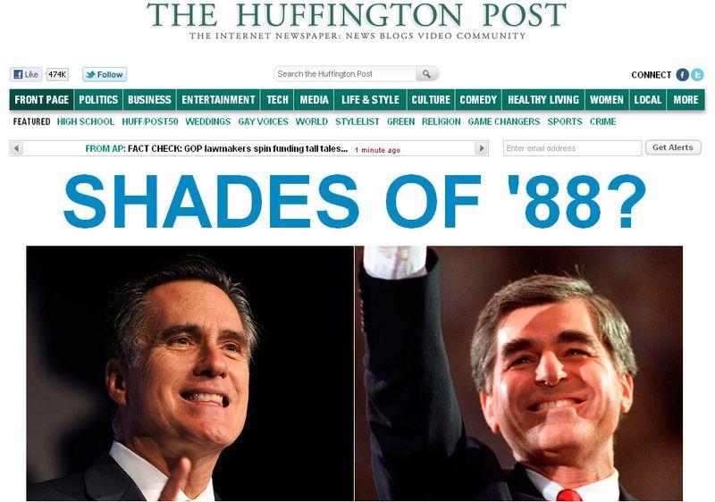 HP 103011 Romney Dukakis