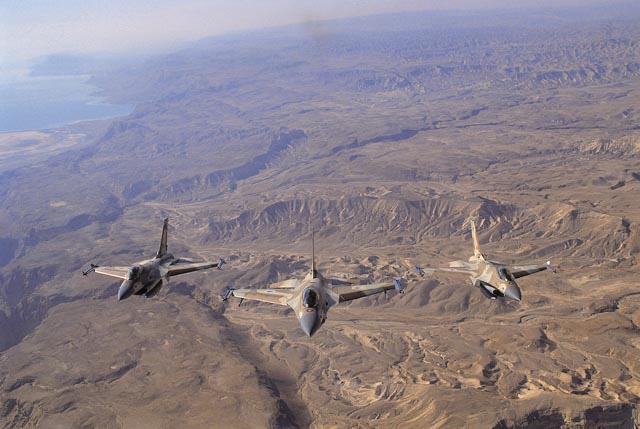 F16s three