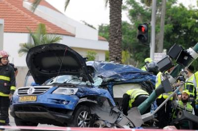 Tel aviv truck attack 051511