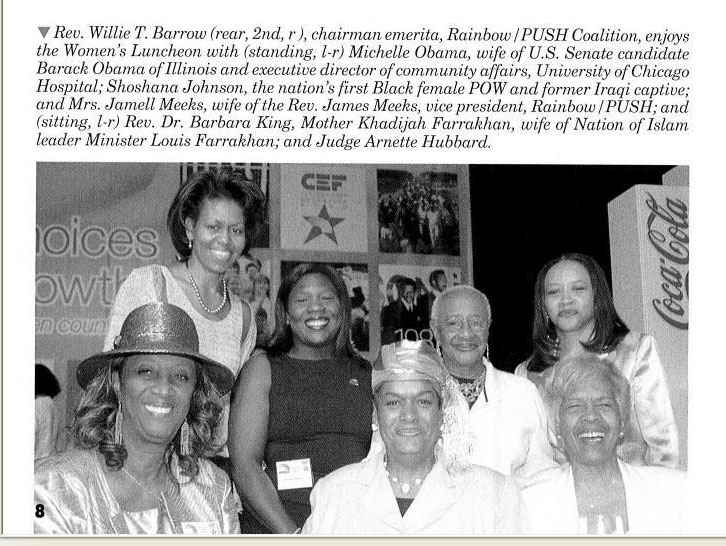 Michelle w mrs farrakhan screen capture
