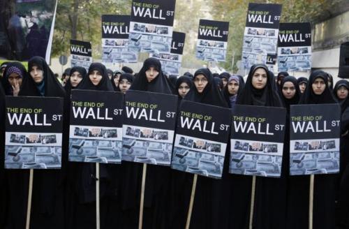 Iranian women occupy swiss embassy tehran 102211