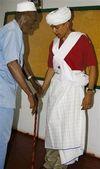 Obama dressed as somali elder