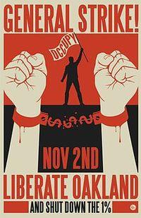 Occupy Oakland Nov2_Strike_Poster