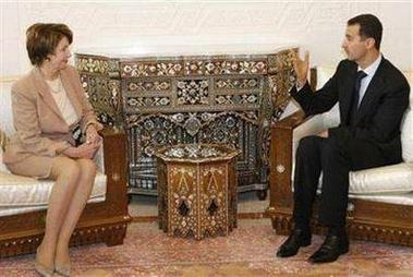Assad w pelosi