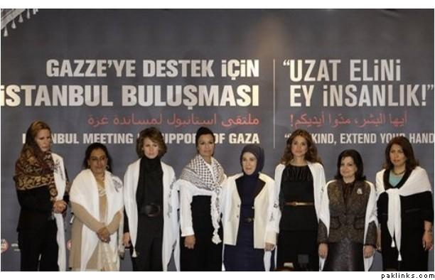 Arab queens for gaza