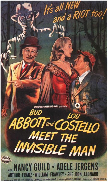 Abbott costello meet the invisible man