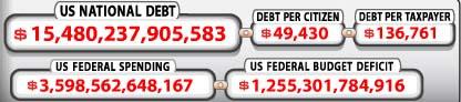 Debt clock 030912