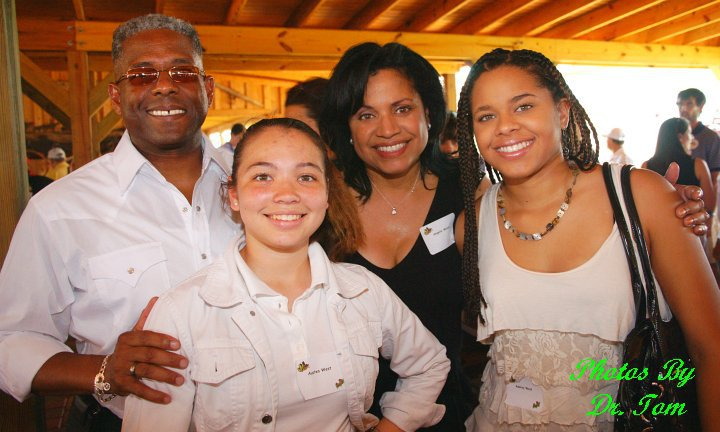 Allen west family
