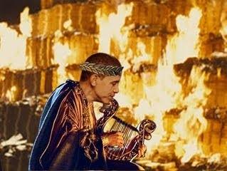 Fiddles as we burn