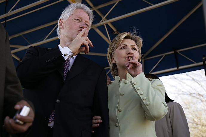 Clintons shhhush selma 0307