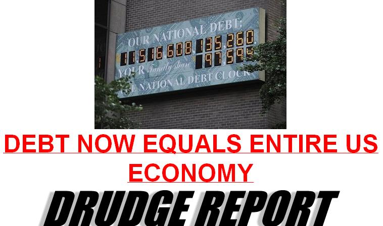 DEBT EQUALS ENTIRE ECONOMY 021411