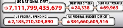 National debt clock 03092004