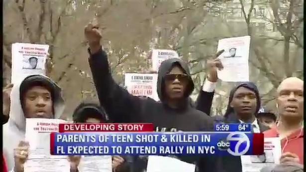 Nyc million hoodie march