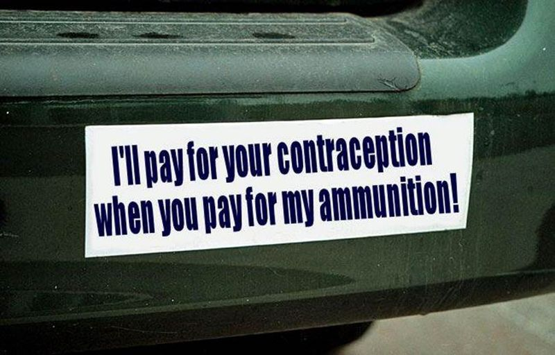 Contraception ammunition