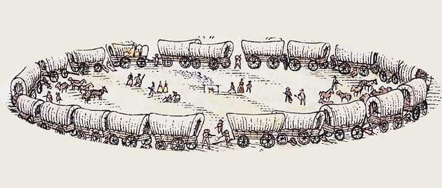Circle-the-wagons