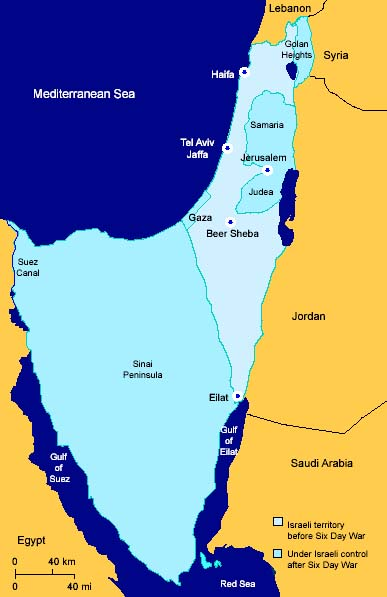 Israel after the six day war