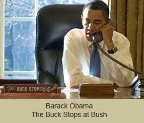 The buck stops with bush photo