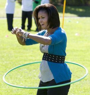 Michelle hoola hoop 102109