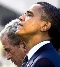 911 anniv w George Bush