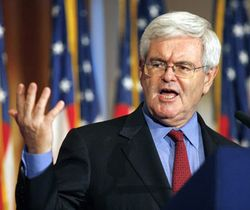 Gingrich in debate